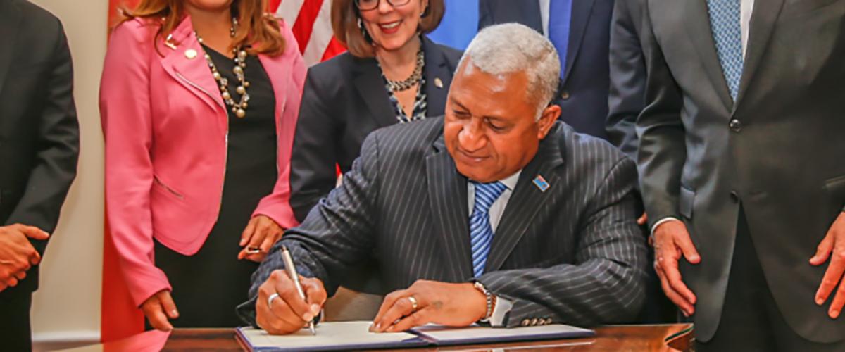 COP23 President Frank Bainimarama